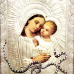 Icon of Panagia Fidousa (Virgin of the Snakes)