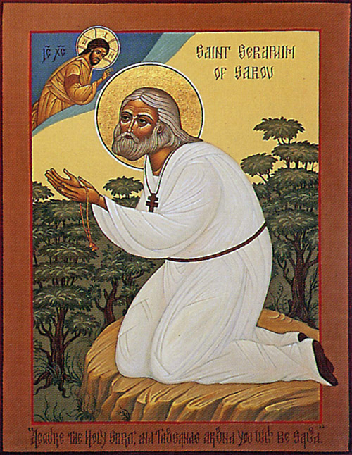 Icon of St. Seraphim of Sarov