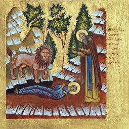 Image result for st mary egypt lion